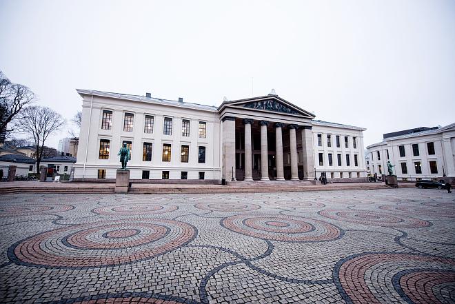 Universitetsplassen i Oslo. (Foto: Anders Lien/UiO)