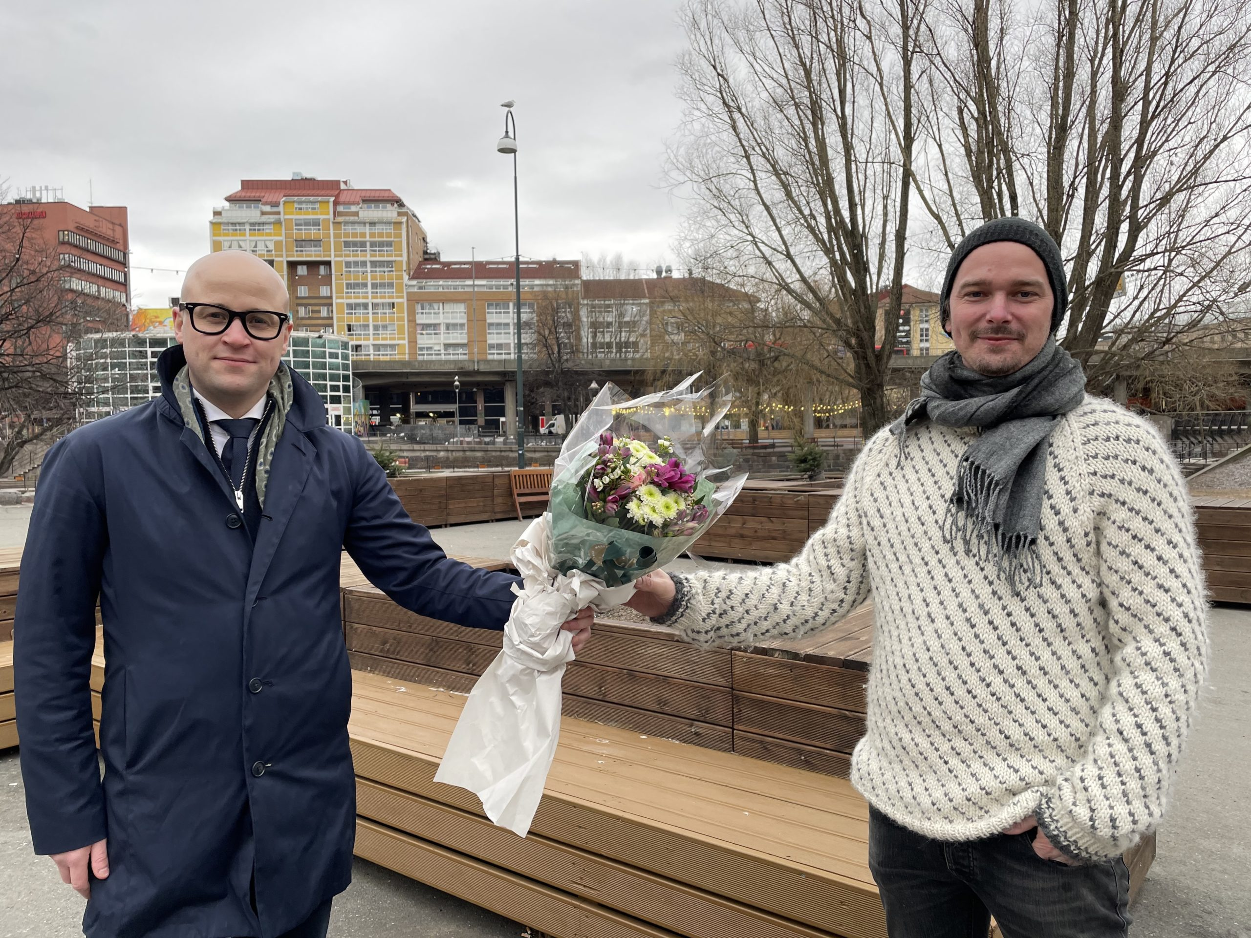 Nynorskstipend  til  Tarjei  Øvrebotten