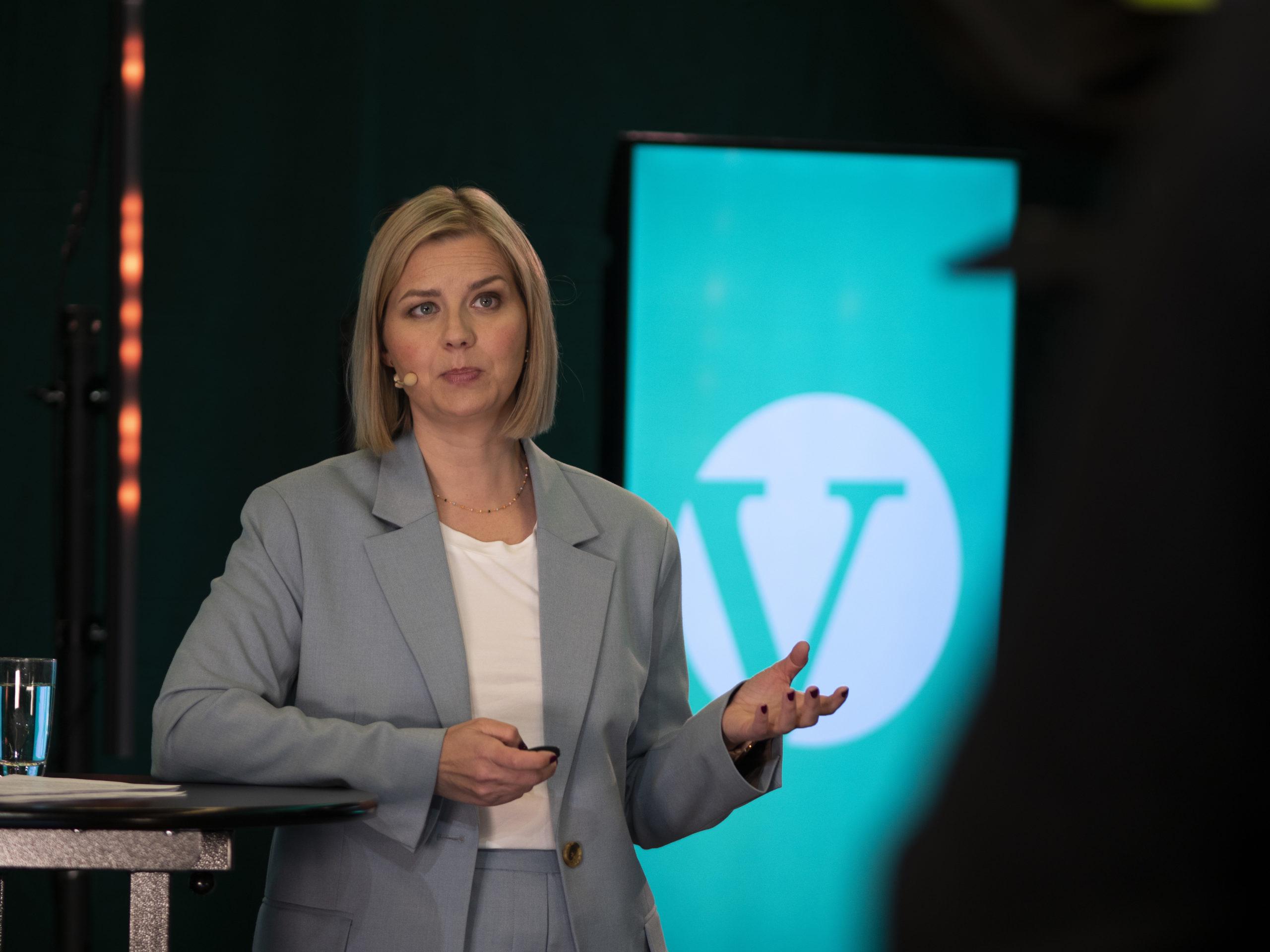 Store  nynorskforventningar  til  Venstre